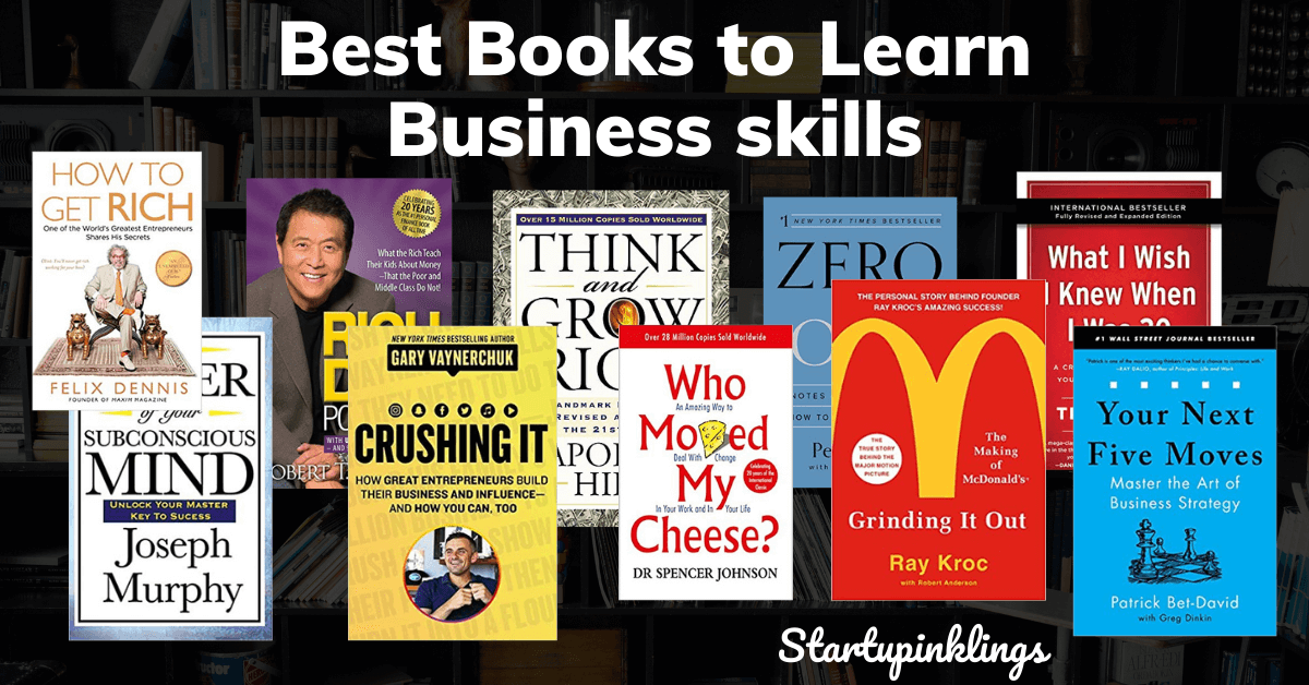 best books to learn business skills